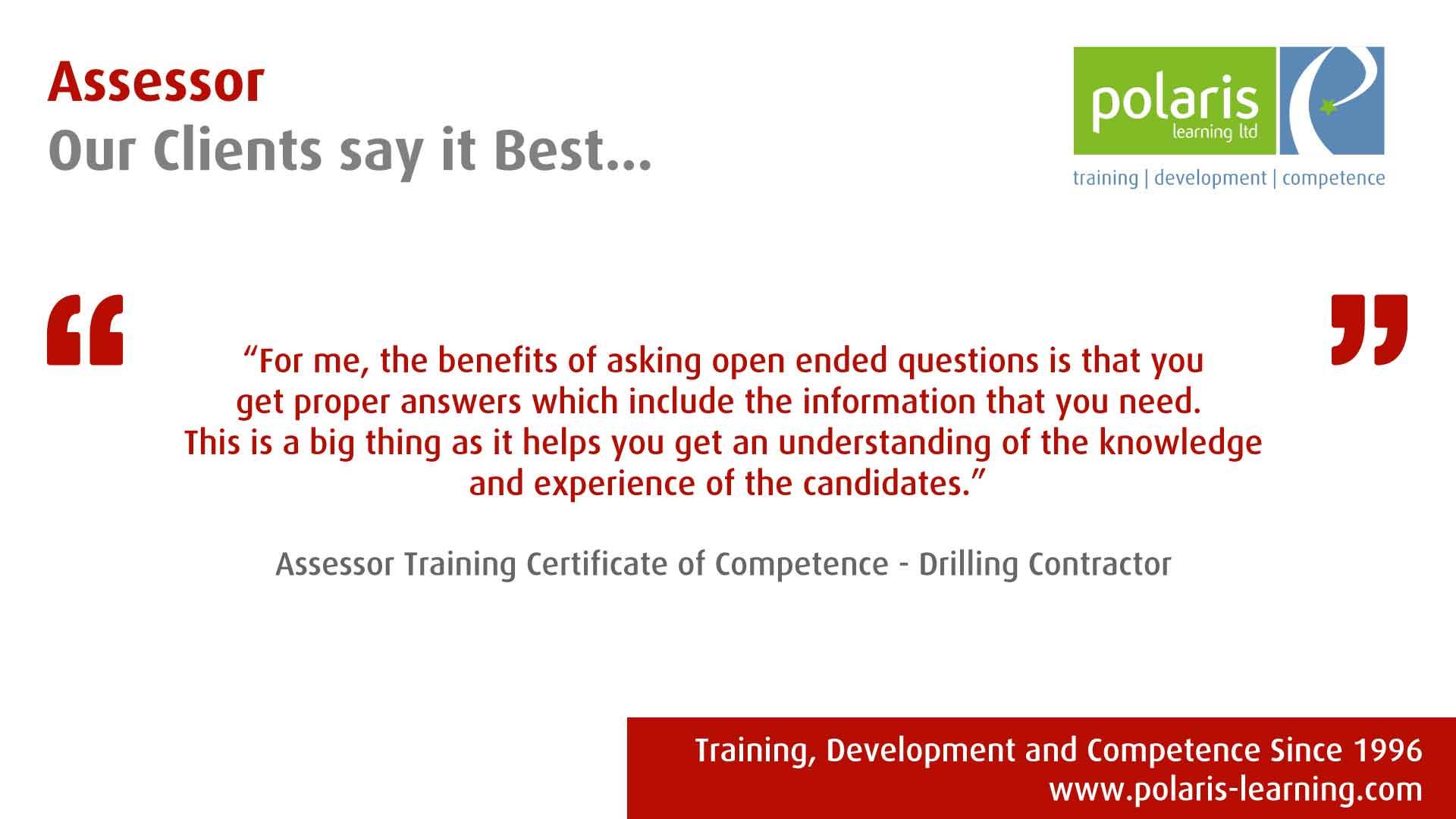 Assessor Training